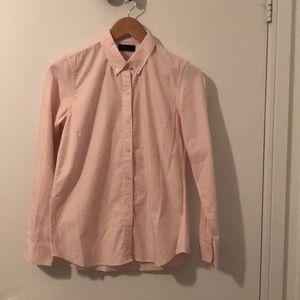 NWOT GAP button up soft pink dress shirt